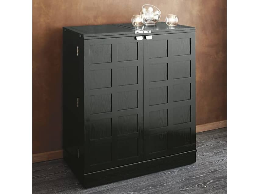 Attrayant Reduced To Sell Crate U0026 Barrel Steamer Bar Cabinet