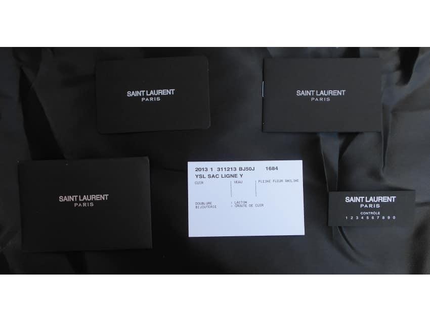 Authentic Ysl Saint Laurent Handbag Purse Apartment