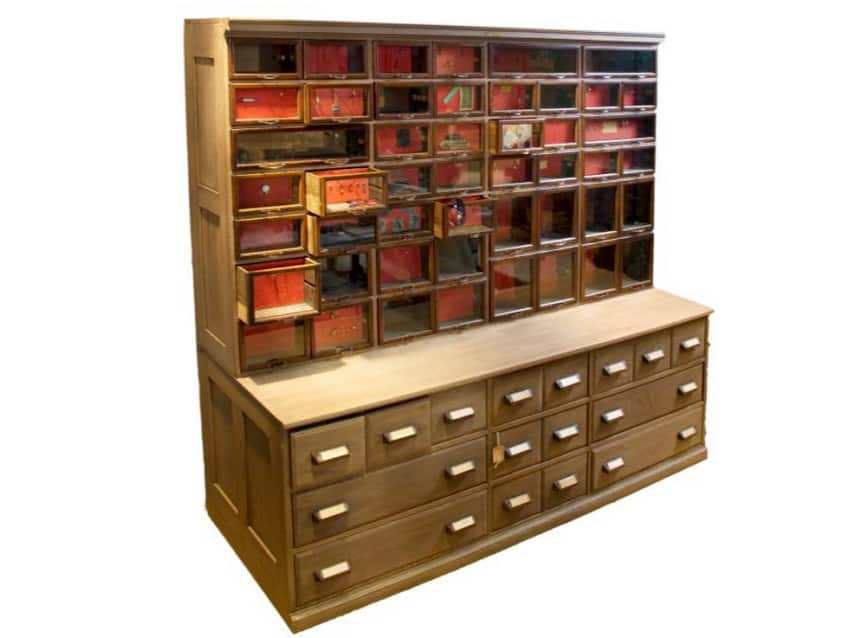 Antique Hardware Store Cabinet - Antique Hardware Store Cabinet - Apartment Therapy Marketplace