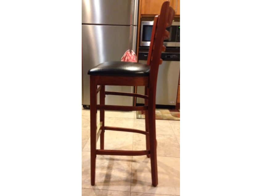 4 Cherrywood Counter Stools Apartment Therapy