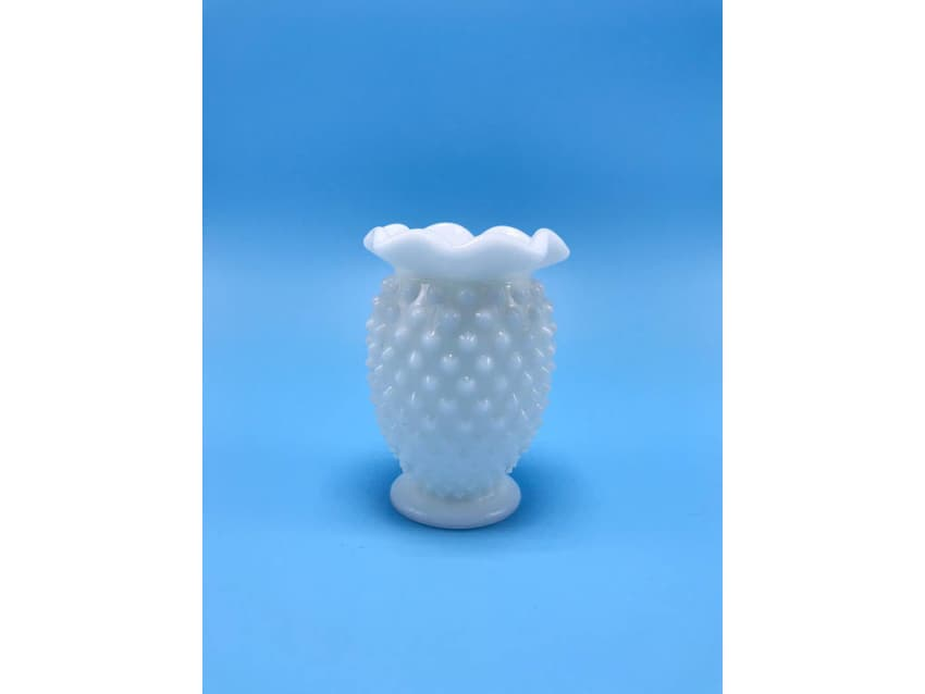 Small Vintage Milk Glass Vase Apartment Therapy Marketplace