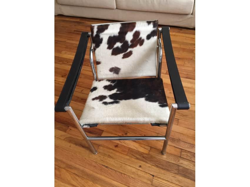 Corbusier Cowhide Sling Chair LC1
