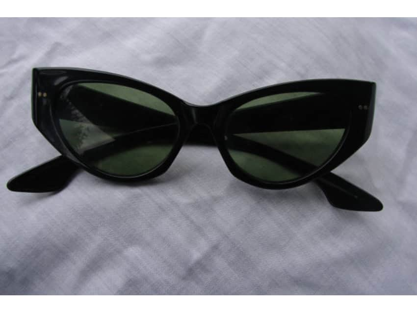 6ad53b4b7ce0 ... italy vintage 1950s ray ban cat eye sunglasses 6c377 69170