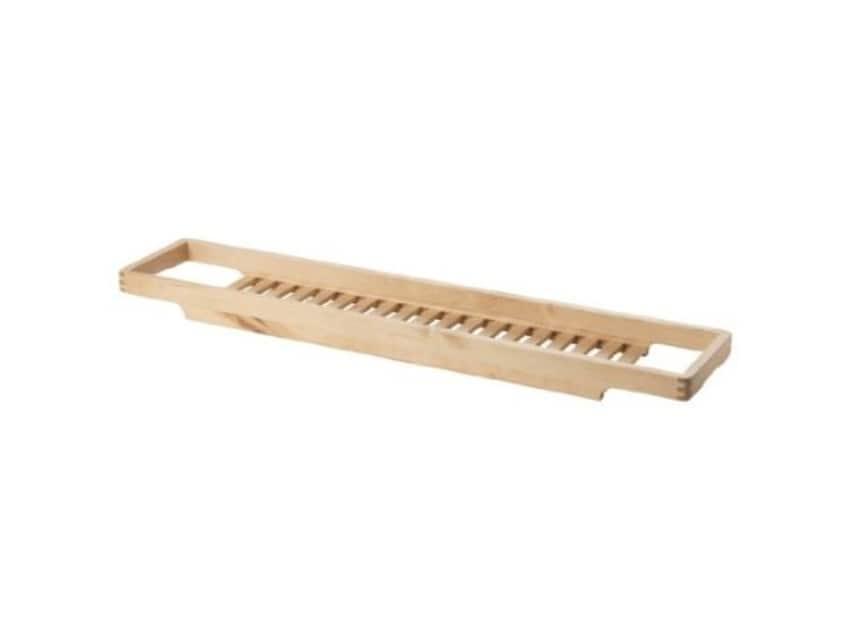 Ikea bath caddy/organizer (birch wood) - Apartment Therapy ...