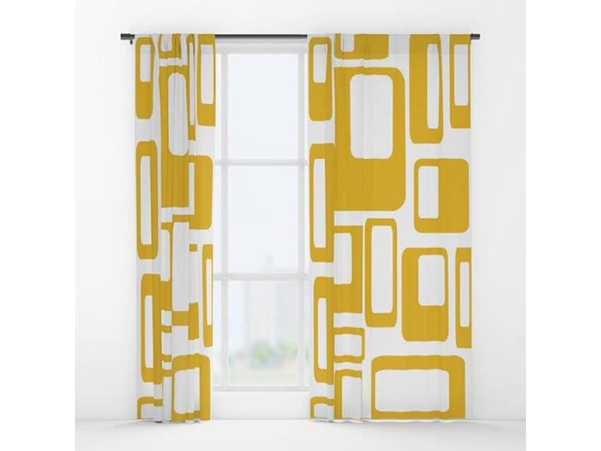 apartment therapy marketplace - Retro Curtains
