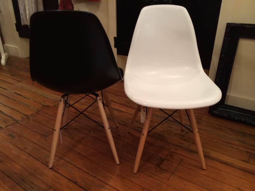 Black Or White Eiffel Chair