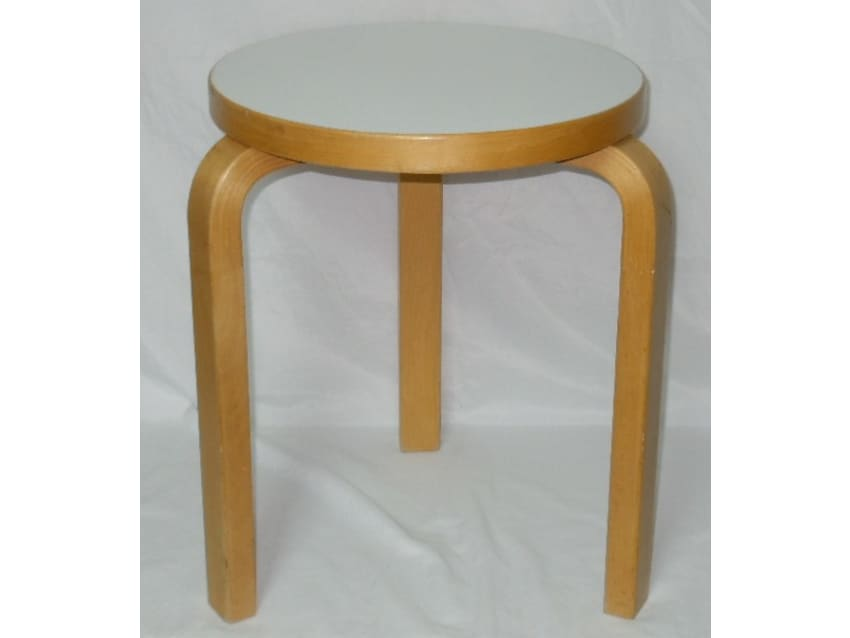 Vintage Alvar Aalto Stool For ICF New York - Apartment Therapy ... on