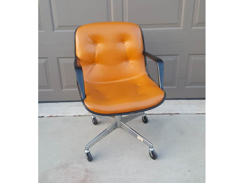 A Set Of Vintage Steelcase Chairs