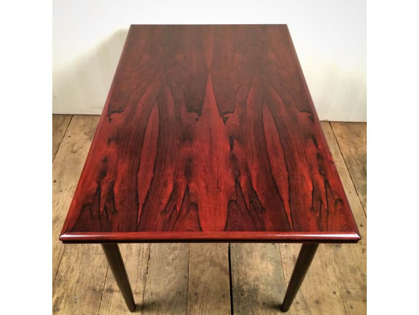 Brazilian Rosewood Danish Modern Dining Table!