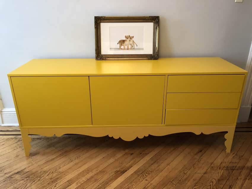 Ikea Yellow Credenza : Ikea trollsta credenza or dresser apartment therapy marketplace