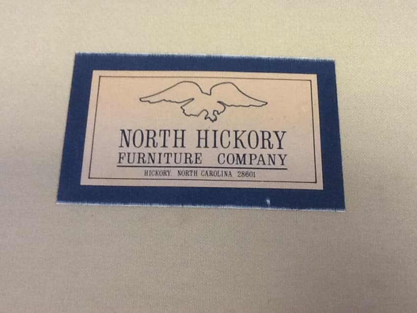 Beautiful North Hickory Furniture Company Sofa