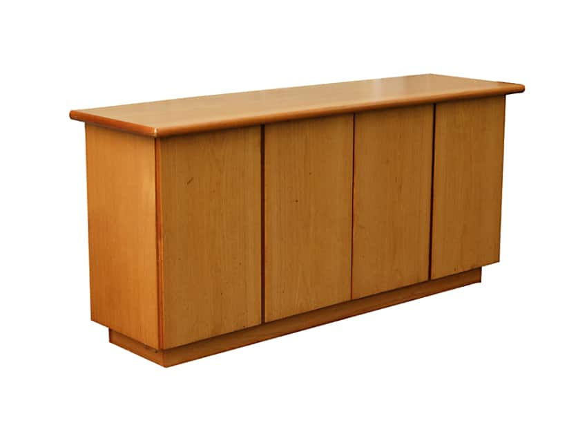 Danish Sideboard Credenza : Little horse books vintage danish teak sideboard credenza
