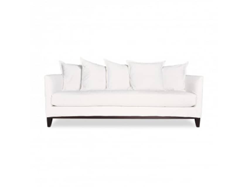 Bon ABC Home White Cobble Hill Hampton Sofa