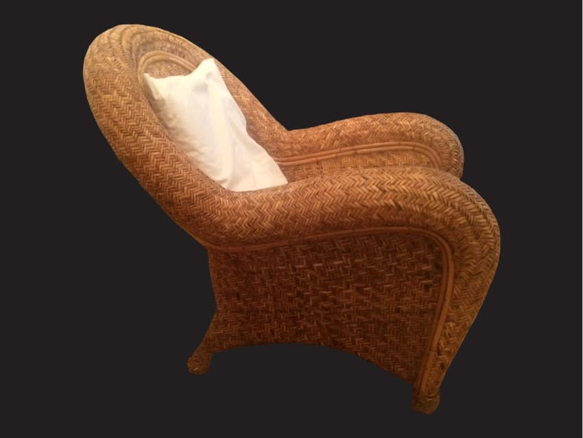 Merveilleux Pottery Barn Malabar Chair Rattan