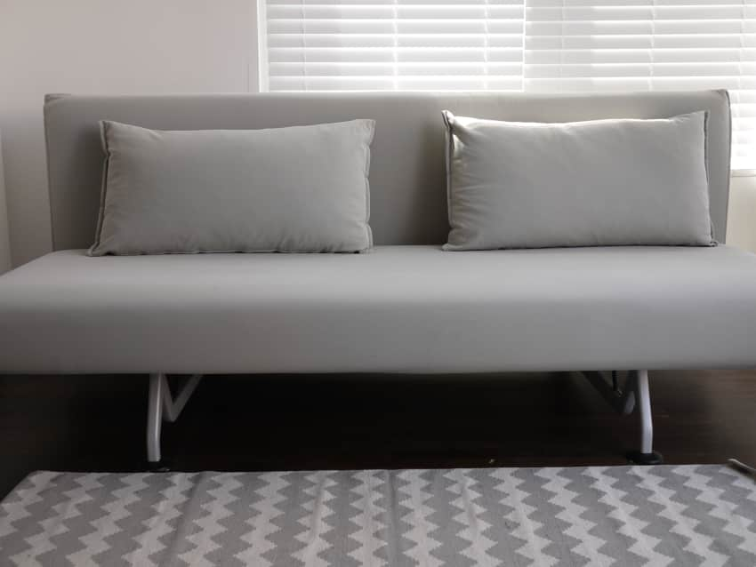 design within reach  dwr  sliding sleeper sofa