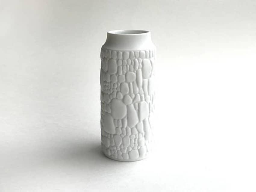 Kaiser Reptile Skin Matte Unglazed Bisque Vase Apartment Therapy