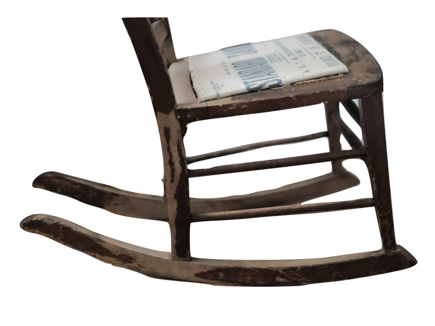 Apartment Therapy Marketplace - Antique Sewing Nursing Rocker Rocking Chair - Apartment Therapy