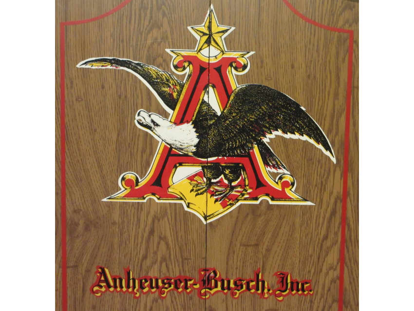 Vintage Anheuser Busch Man Cave Dartboard Apartment Therapy
