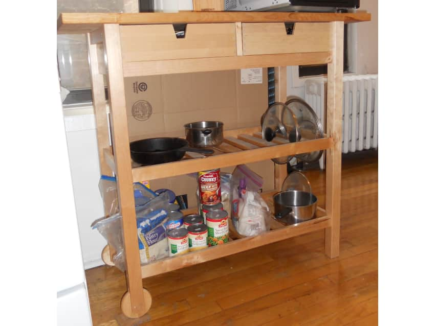 Delightful Ikea Forhoja Kitchen Cart
