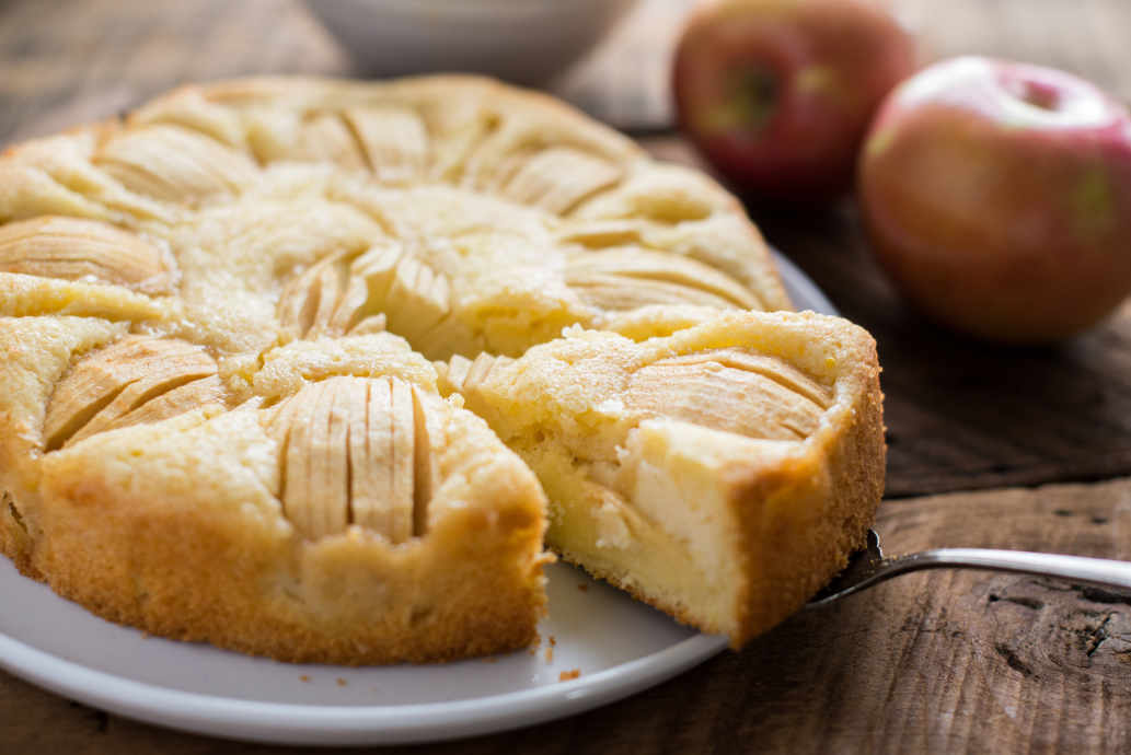 Sunken Apple Cake The Kitchn