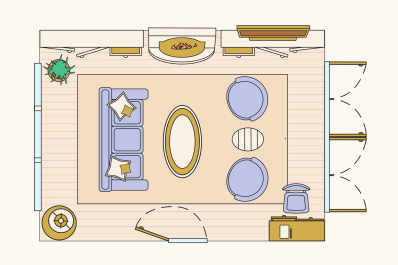 10 Ways to Lay Out a Living Room: Sample Floorplans ...