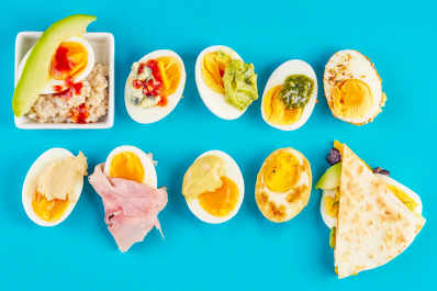 10 Ways to Upgrade Hard-Boiled Eggs
