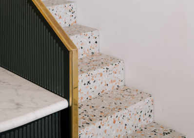 On Trend Terrazzo Is Making A Major Comeback Apartment Therapy - How are terrazzo floors made