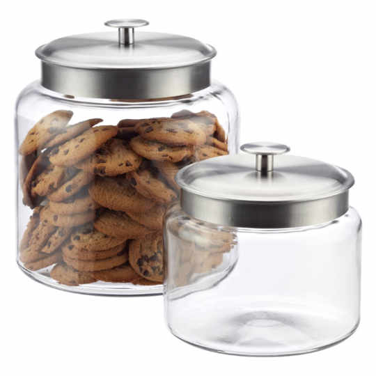 Container Store Montana Glass Canisters