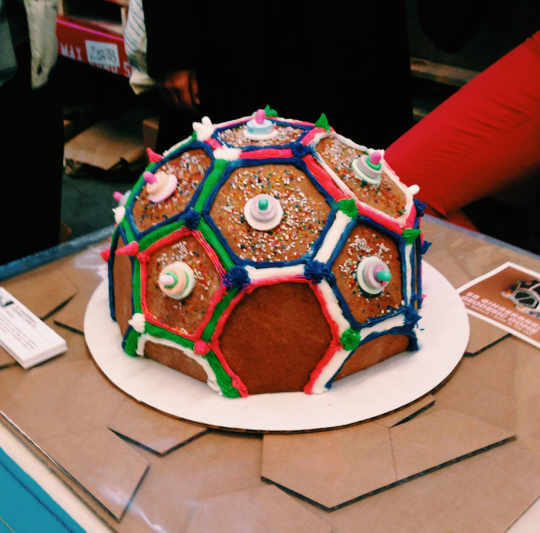 Geodesic Dome Gingerbread House Kit from Scout Regalia