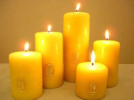 Santa Rosa Mexican Church Candles
