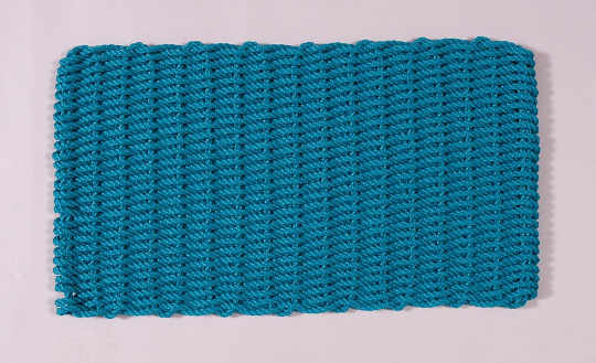 Cape Cod Original Doormat, in Teal