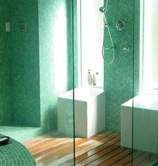 Green Glass Tile Blends by Hakatai