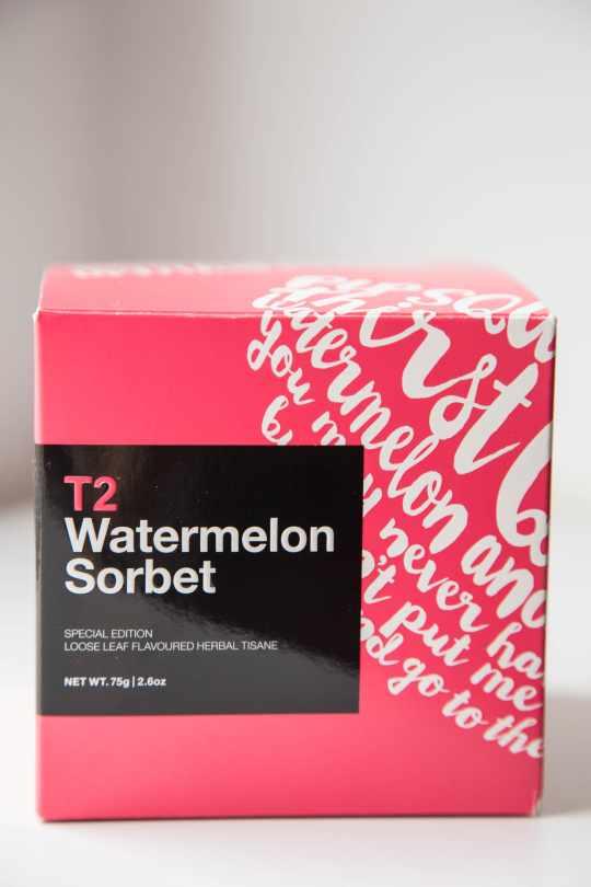 Watermelon Sorbet Tea from T2