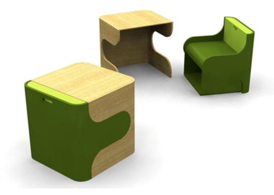 Klick Desk & Chair