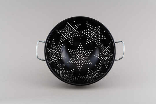 Star Colander by Jacob Bromwell