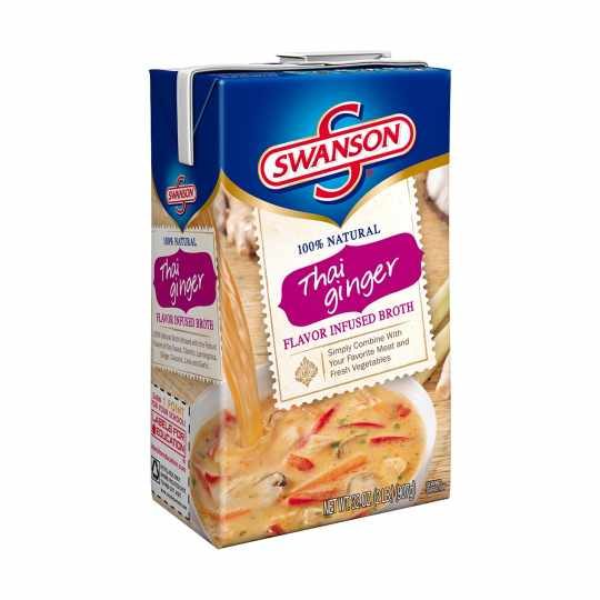Thai Ginger Broth from Swanson's
