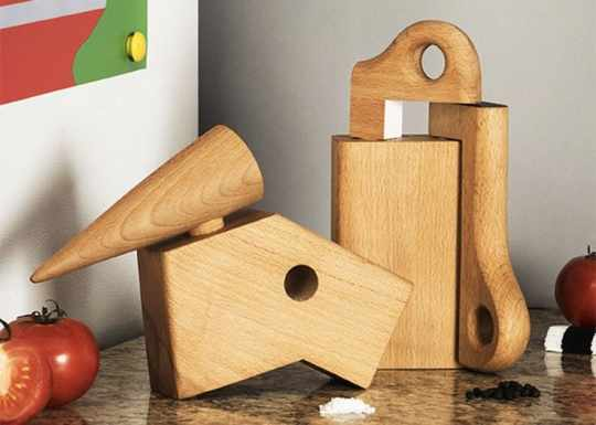 Bird Mill & Crank Grinder by Cas Holman for Areaware