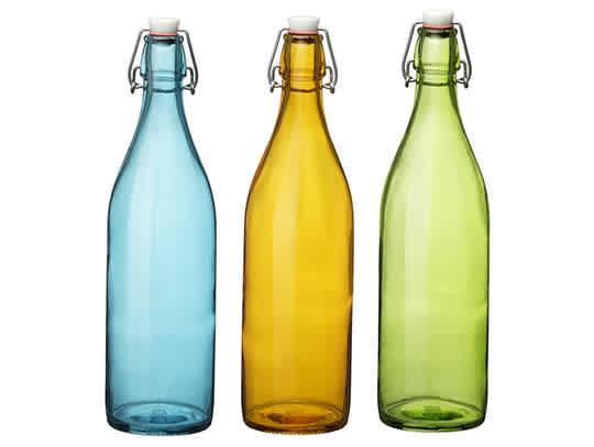 Bormioli Rocco Giara Colored Bottles