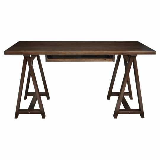 Simpli Home Sawhorse Office Desk