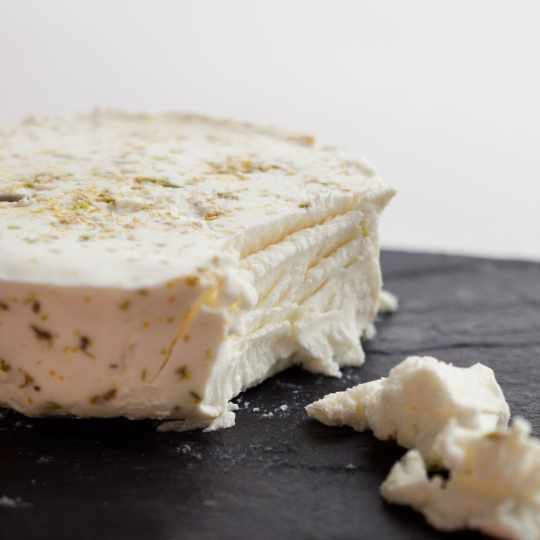 Purple Haze Goat's Milk Cheese by Cypress Grove