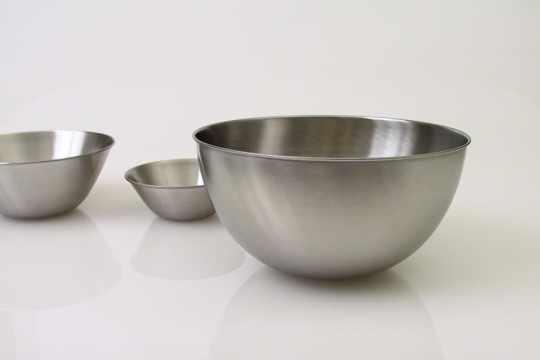Sori Yanagi Stainless Steel Bowls