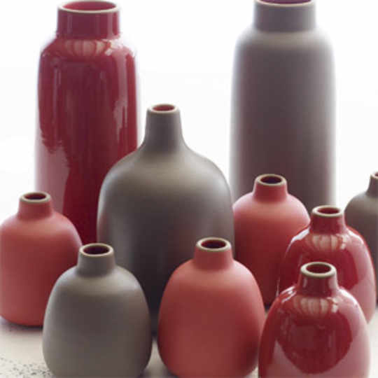 Winter Seasonal Vases
