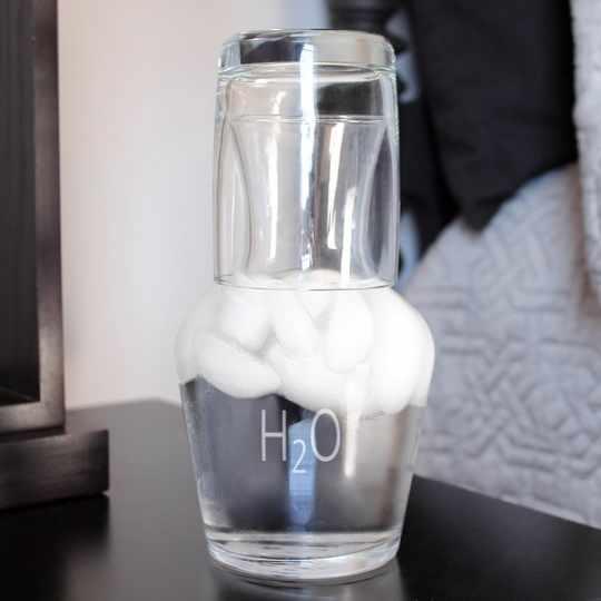 H2O Beside Carafe & Glass Set