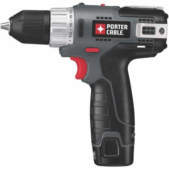 Porter-Cable PDL-120DDC-2 12-Volt Max Drill