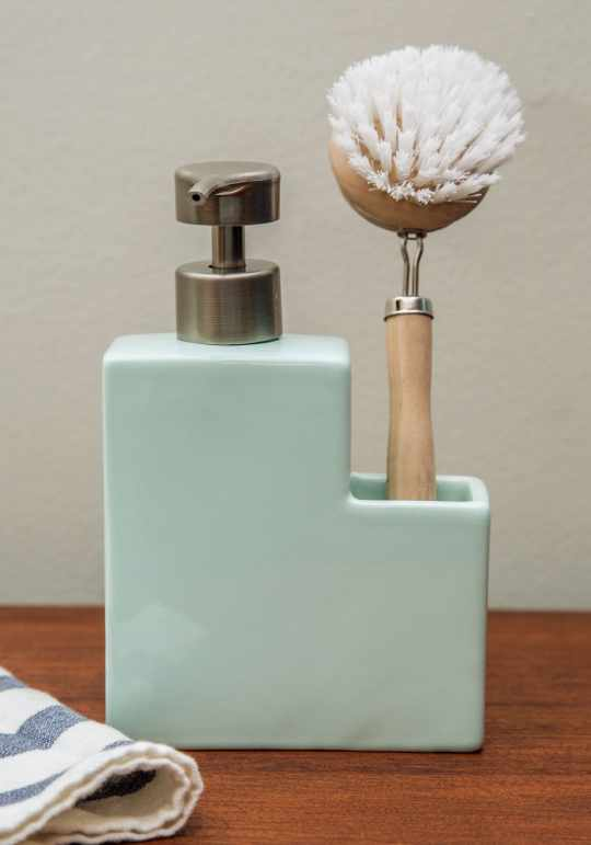 Clean Plate Club Soap Dispenser Set from ModCloth