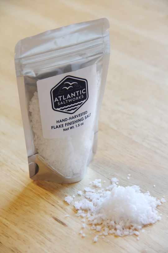 Flake Finishing Salt from Atlantic Saltworks
