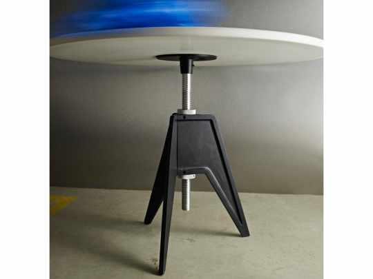 Screw Table w Marble Top by Tom Dixon