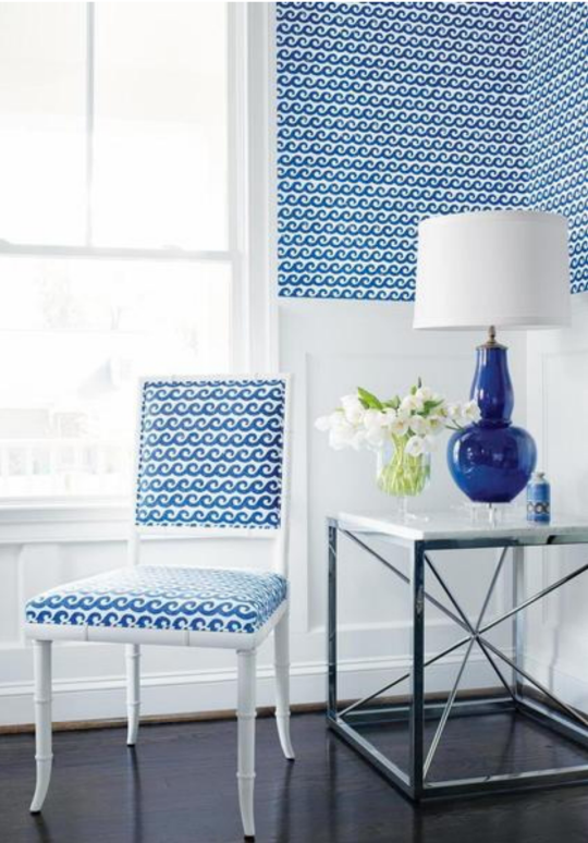 Shore Thing Wallpaper & Fabric by Thibaut