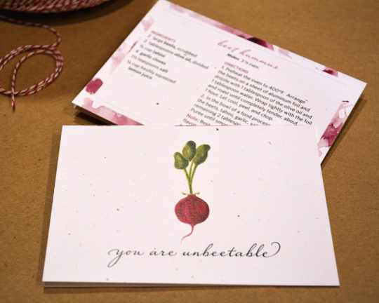You Are Unbeetable Cards from League Street Press