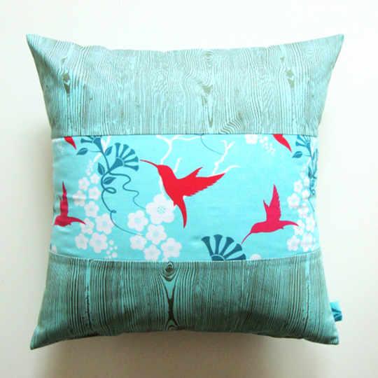 Electric Birds Pillows